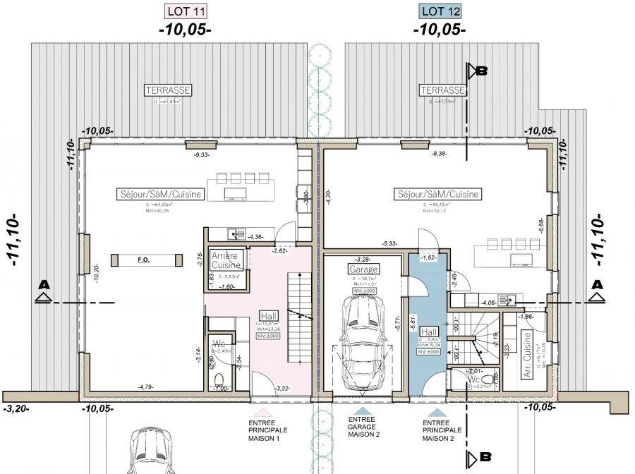 acheter maison jumelée 3 chambres 166.29 m² weiswampach photo 7