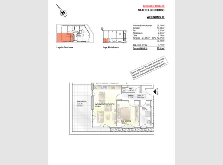 Wohnung zum Kauf 2 Zimmer in Schweich (DE) - Ref. 7181064