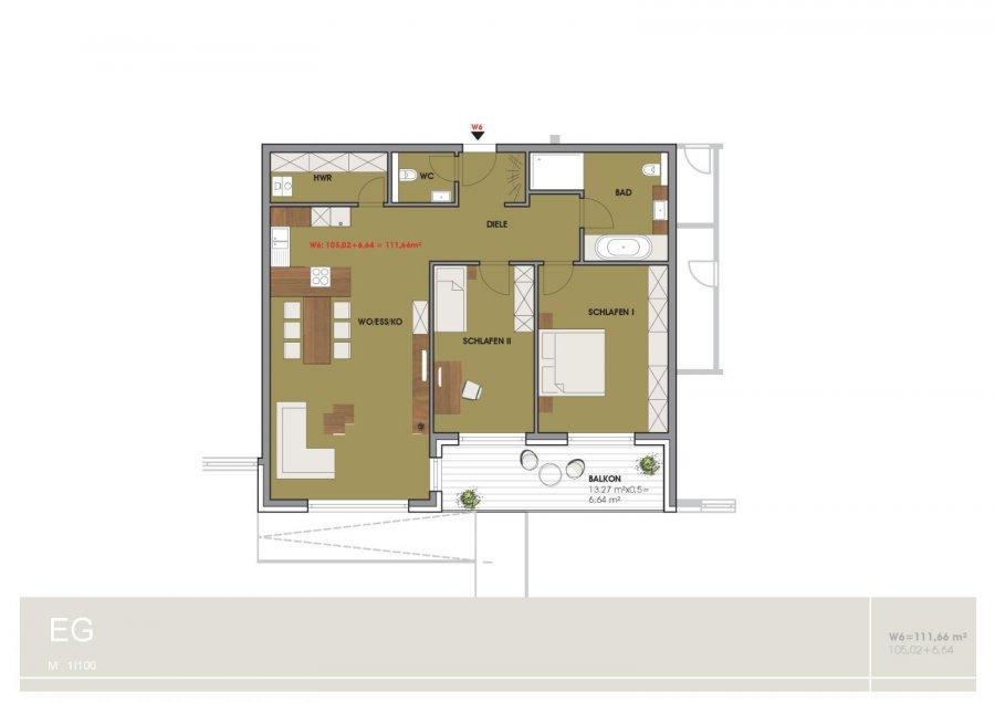 wohnung kaufen 3 zimmer 111.66 m² temmels foto 1