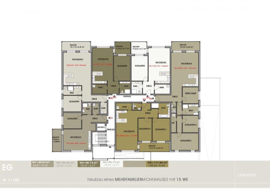 wohnung kaufen 3 zimmer 111.66 m² temmels foto 4