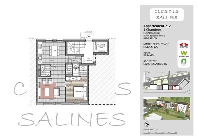 wohnung kaufen 0 zimmer 63 m² arlon foto 1