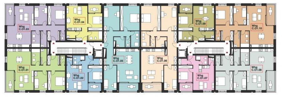 wohnung kaufen 2 schlafzimmer 97.58 m² wasserbillig foto 2