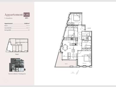 Appartement à vendre 3 Chambres à Esch-sur-Alzette - Réf. 6958856