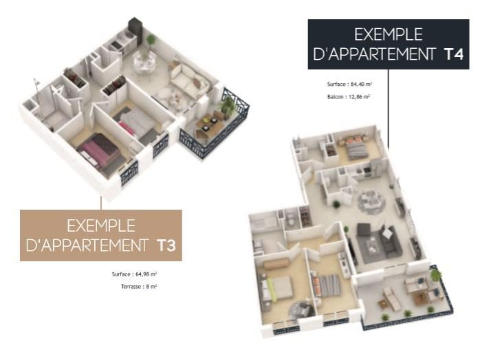 acheter appartement 2 pièces 42 m² pornic photo 4