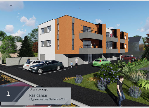 Neuf appartement f3 yutz moselle r f 5554968 for Appartement f3 neuf