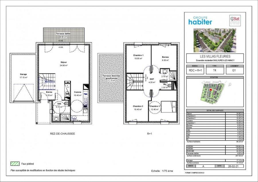 acheter villa 5 pièces 98 m² saulxures-lès-nancy photo 1