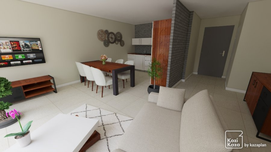 acheter appartement 3 pièces 65.37 m² coin-lès-cuvry photo 2