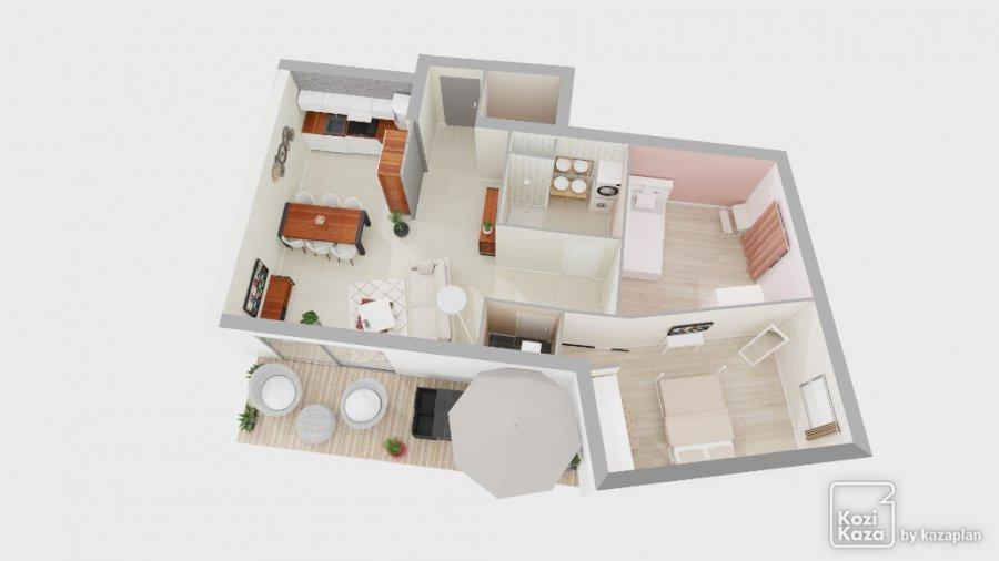 acheter appartement 3 pièces 65.37 m² coin-lès-cuvry photo 1