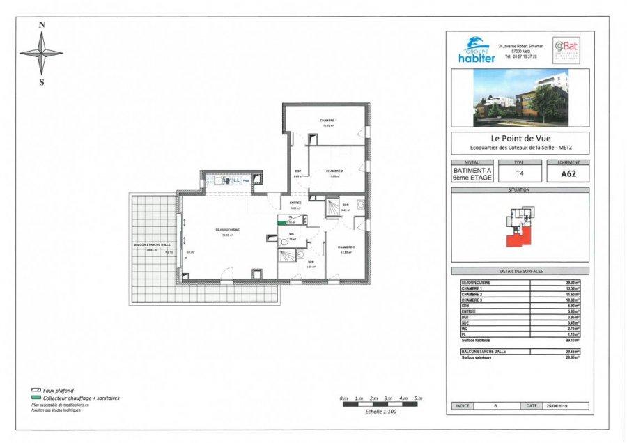 acheter appartement 5 pièces 99 m² metz photo 1