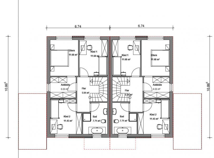 doppelhaushälfte kaufen 5 zimmer 112 m² merzig foto 4