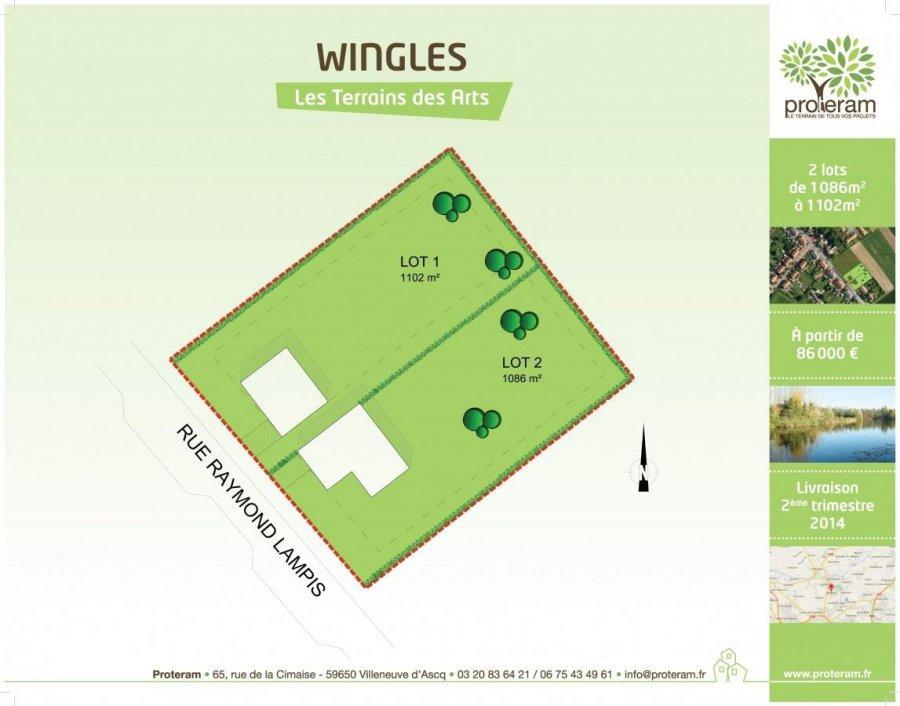 terrain constructible en vente wingles m 86. Black Bedroom Furniture Sets. Home Design Ideas