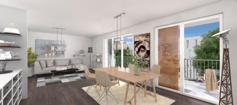 Appartement à vendre F4 à Vandoeuvre-les-nancy