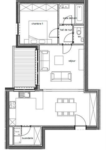 acheter appartement 1 pièce 71 m² arlon photo 2