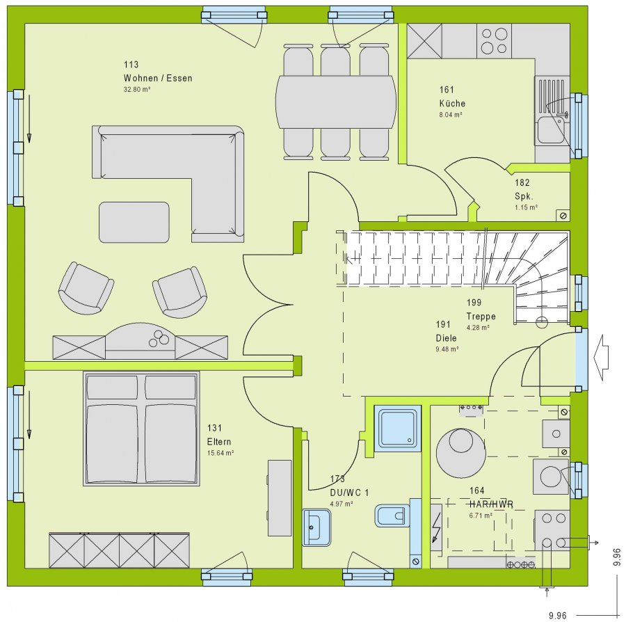 acheter maison 5 pièces 146 m² saarburg photo 7