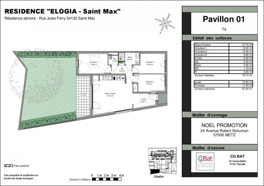 acheter maison 4 pièces 79 m² saint-max photo 1