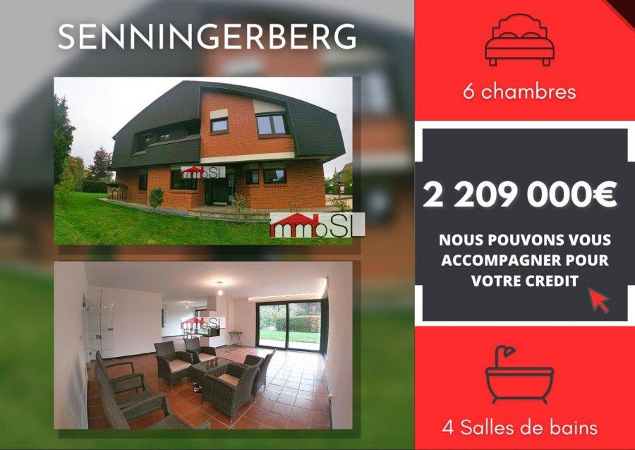 acheter maison individuelle 5 chambres 250 m² senningerberg photo 1