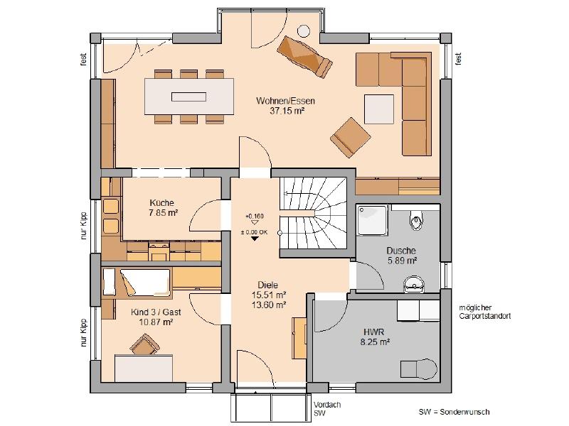 haus kaufen 6 zimmer 166 m² wawern foto 3