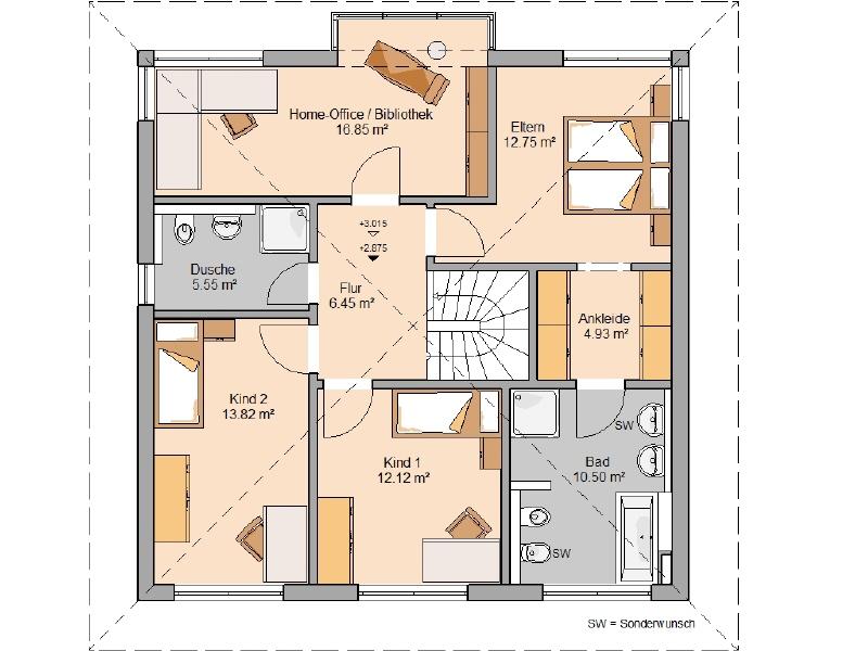 haus kaufen 6 zimmer 166 m² wawern foto 4