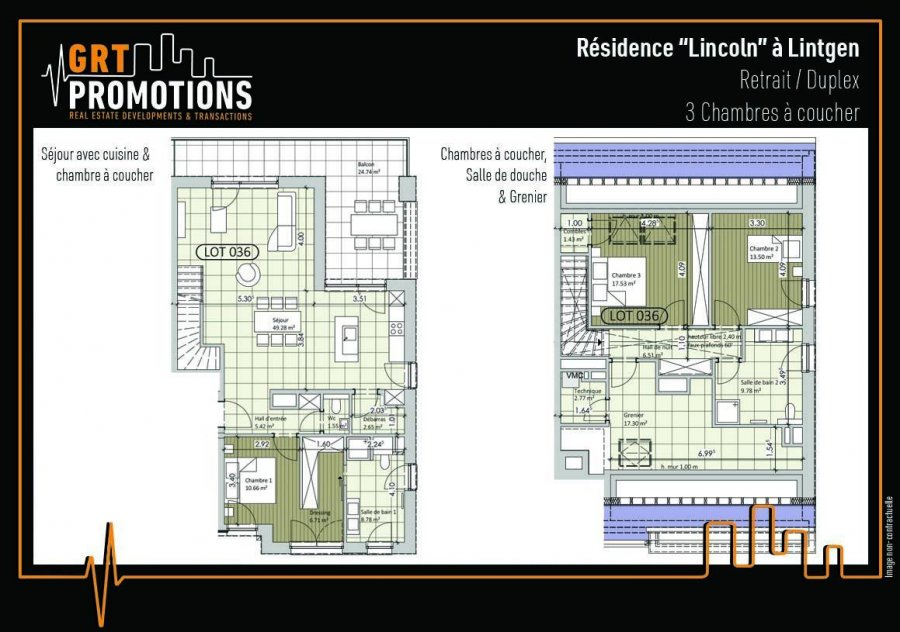 acheter appartement 3 chambres 140.19 m² lintgen photo 4