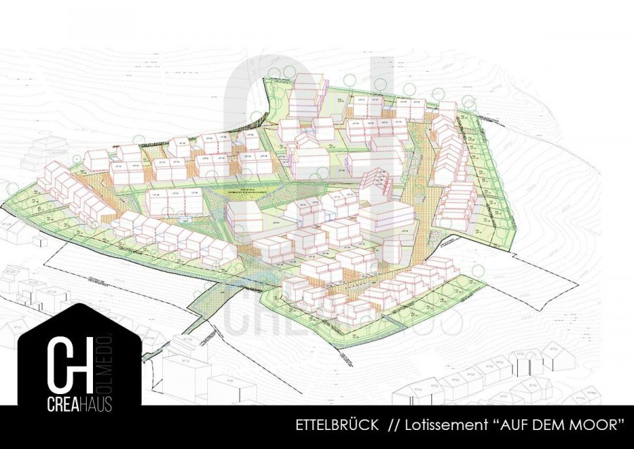 acheter terrain constructible 0 chambre 299 m² ettelbruck photo 3