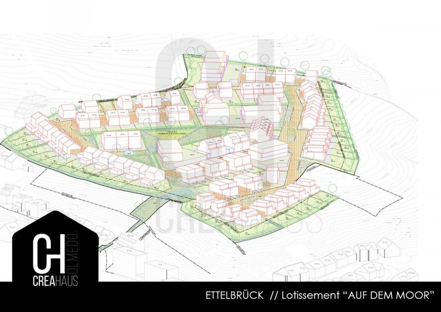 acheter terrain constructible 0 chambre 299 m² ettelbruck photo 1
