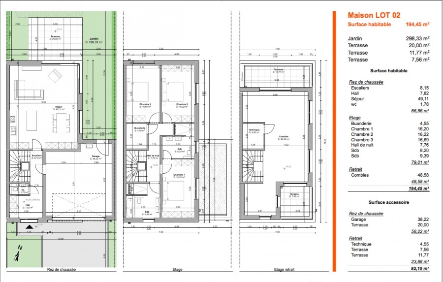 Maison jumelée à vendre 3 chambres à Bascharage