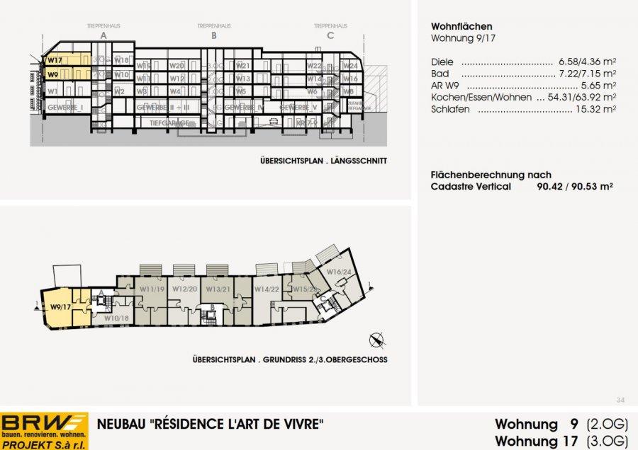 acheter appartement 1 chambre 97.41 m² echternach photo 3