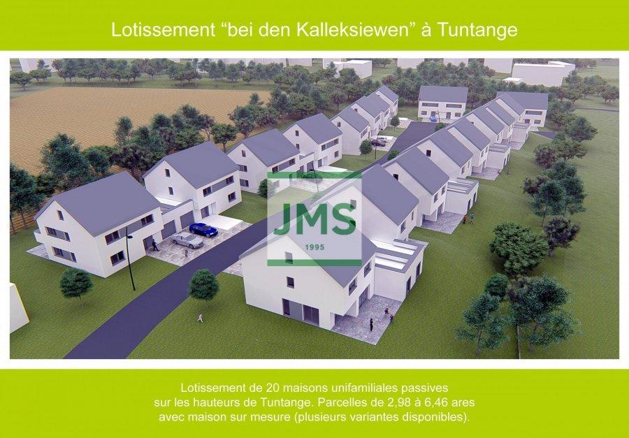 Lotissement à vendre à Tuntange