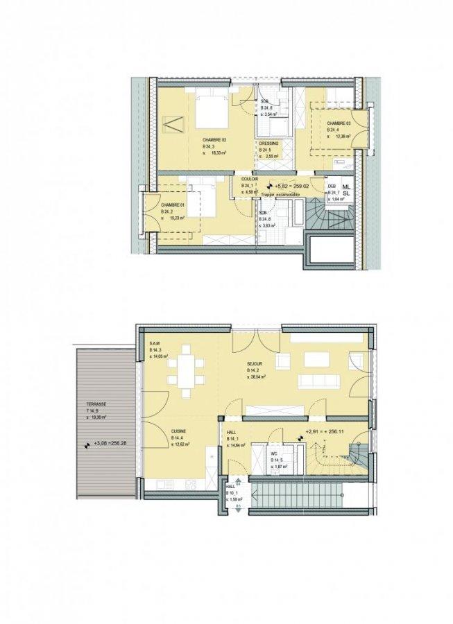 acheter duplex 3 chambres 134 m² niederanven photo 2