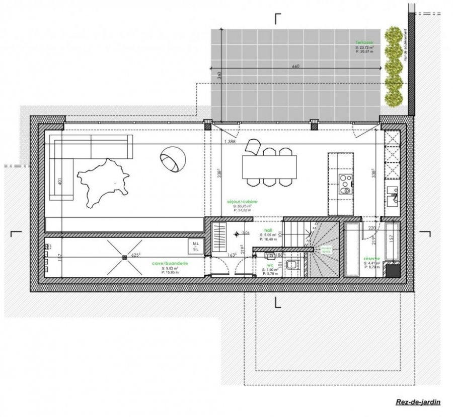 acheter maison mitoyenne 5 chambres 183 m² berbourg photo 4