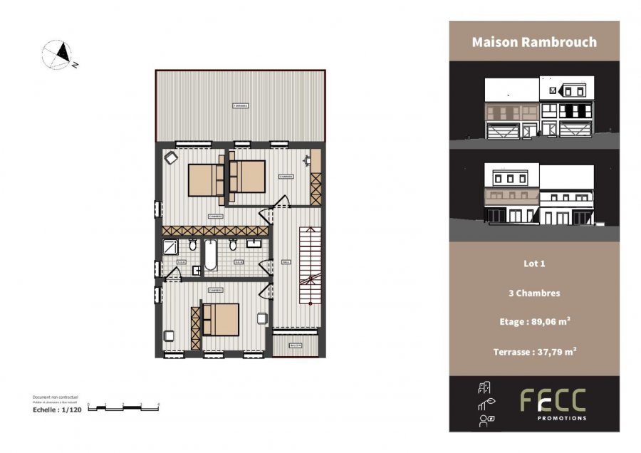 haus kaufen 4 schlafzimmer 263.79 m² rambrouch foto 7