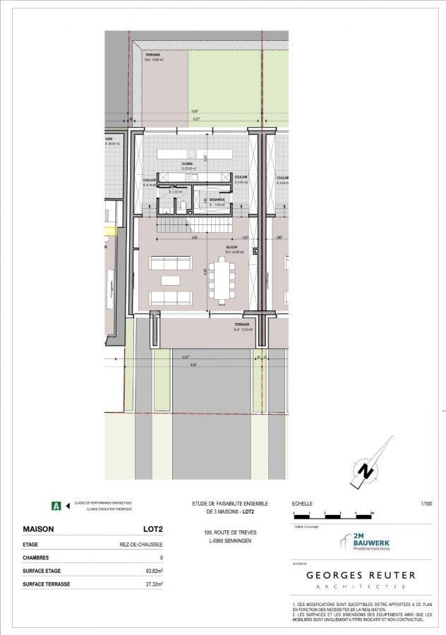 acheter maison individuelle 3 chambres 167.04 m² senningen photo 7