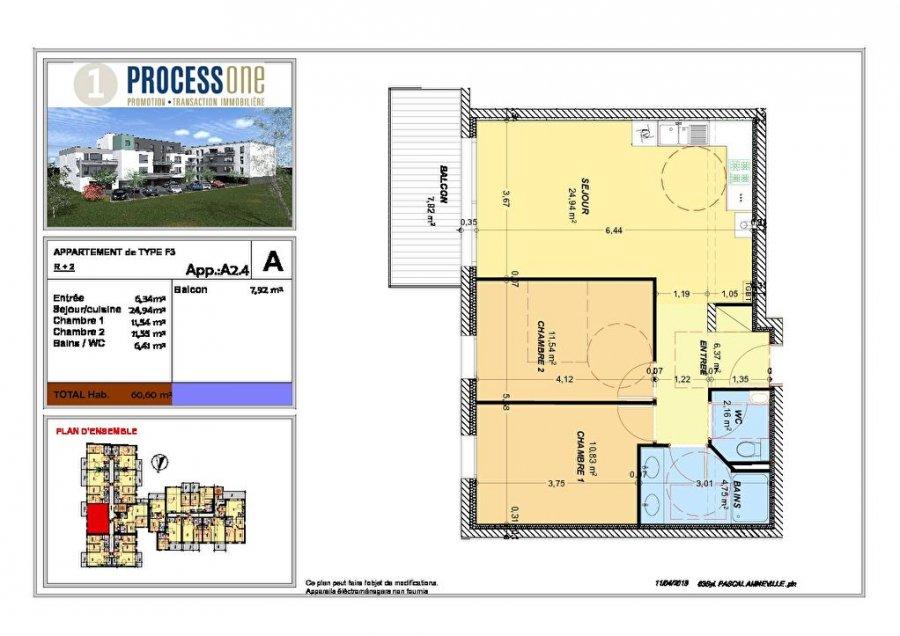 ▷ Apartment for sale • Amnéville • 60 6 m² • 160,600 € | atHome