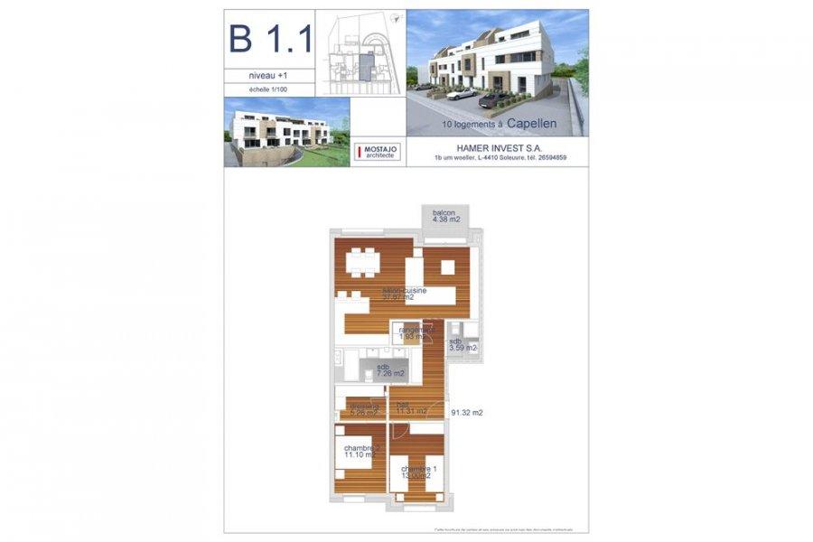 Appartement à vendre 2 chambres à Capellen
