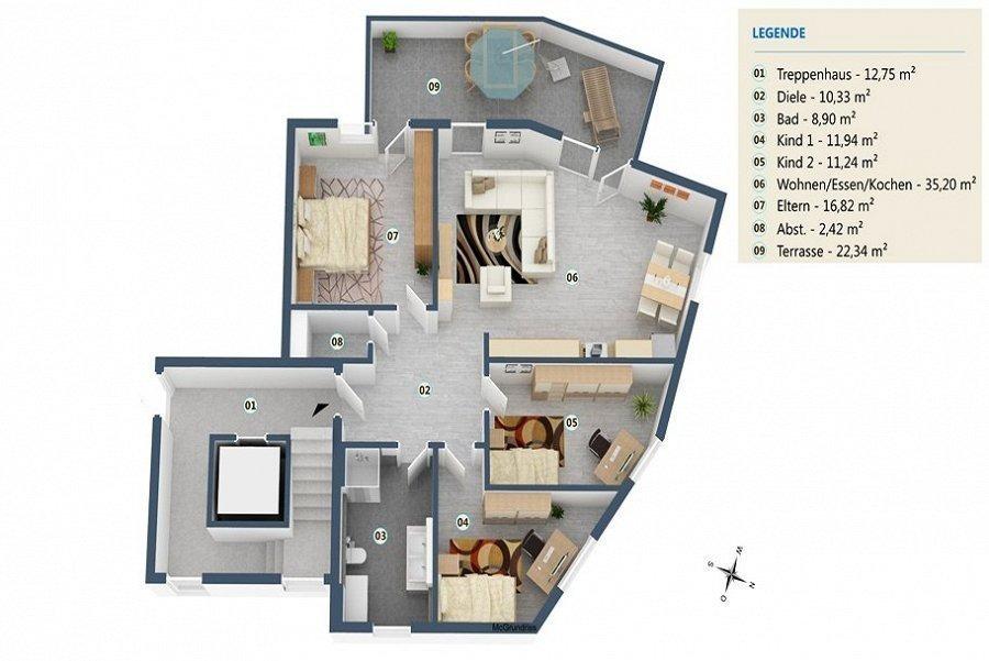 acheter appartement 4 pièces 108 m² palzem photo 5