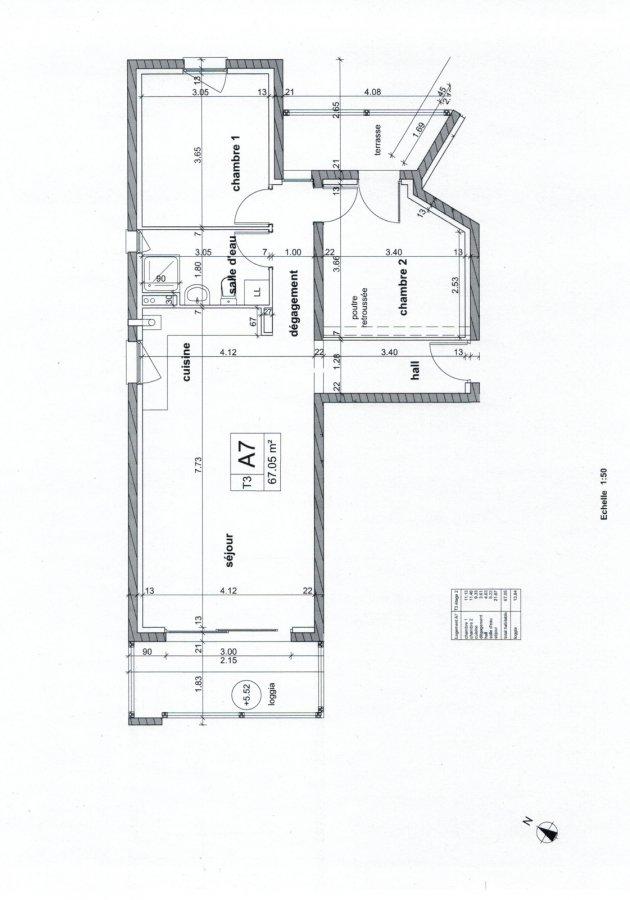 acheter appartement 3 pièces 67.05 m² rombas photo 2