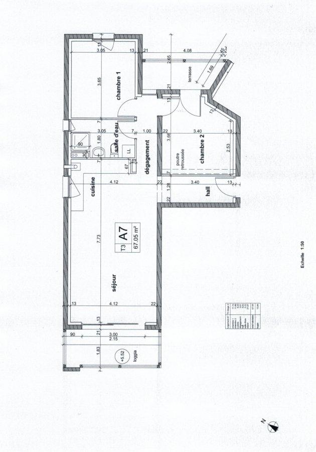 Appartement à vendre F3 à Rombas