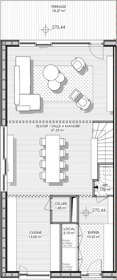 acheter maison 4 chambres 228.7 m² peppange photo 5