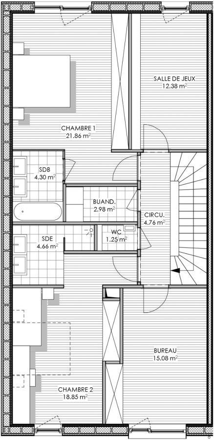 acheter maison 4 chambres 228.7 m² peppange photo 6
