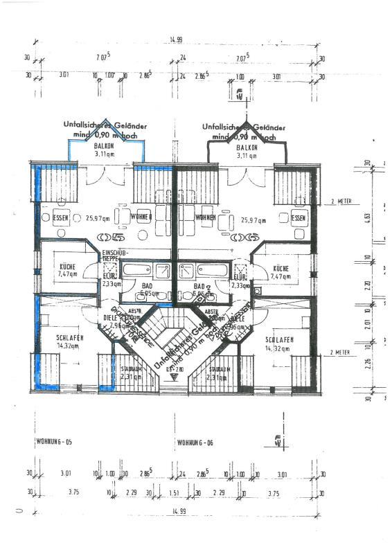 wohnung mieten 2 zimmer 65.5 m² trier foto 2