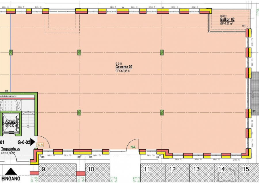 büro kaufen 1 zimmer 109.57 m² bitburg foto 3