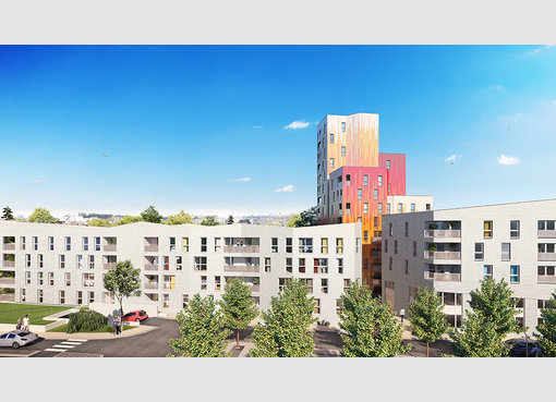 Neuf appartement f2 valenciennes nord r f 5374824 for Appartement f2 neuf