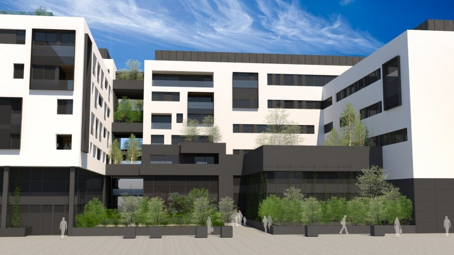 penthouse-wohnung kaufen 3 schlafzimmer 100.99 m² belval foto 3