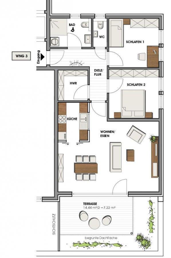 wohnung mieten 4 zimmer 93 m² perl foto 6