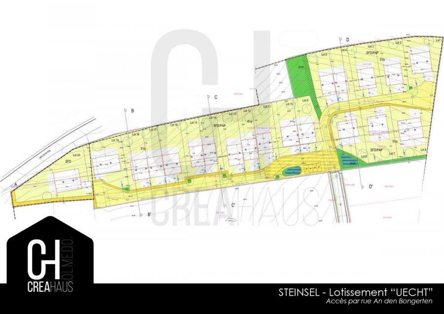 acheter terrain constructible 0 chambre 612 m² steinsel photo 1