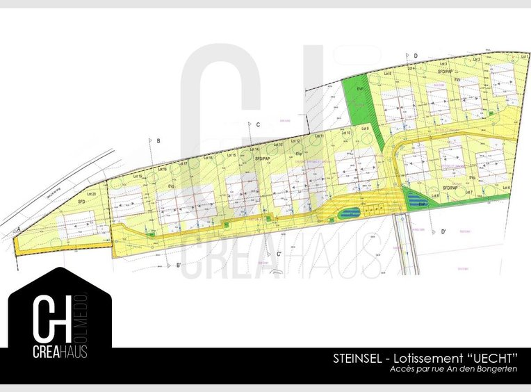 Building land for sale in Steinsel (LU) - Ref. 6643304