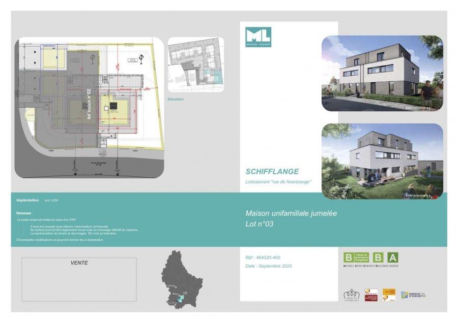 acheter maison jumelée 4 chambres 179 m² schifflange photo 4