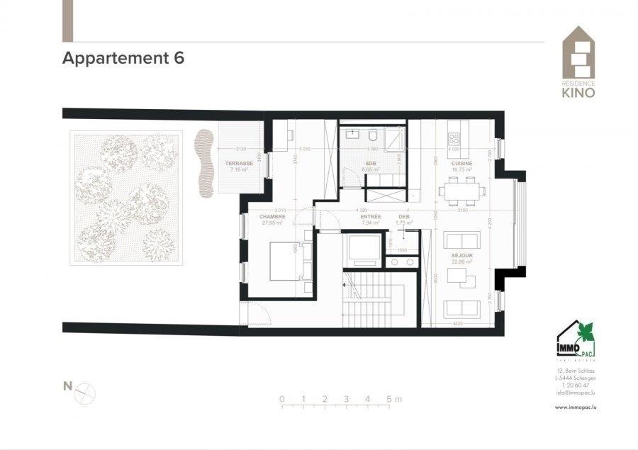 acheter appartement 1 chambre 92.06 m² ettelbruck photo 4