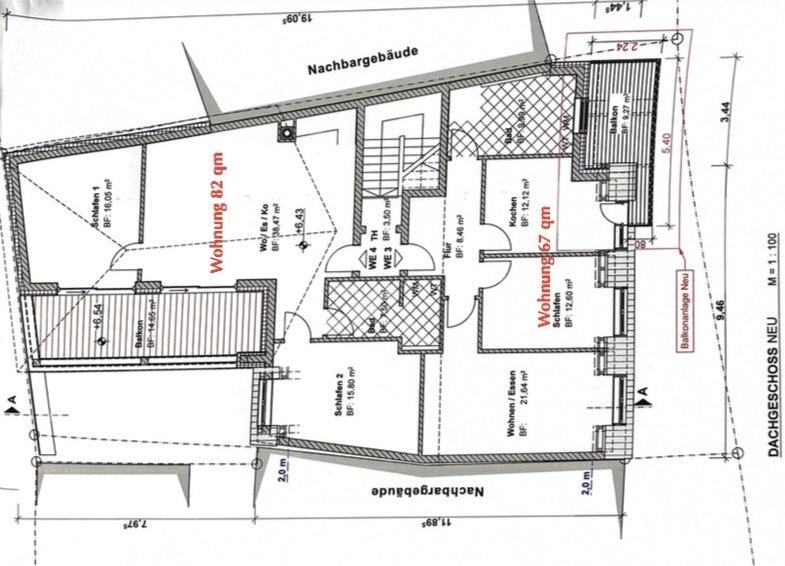 wohnung mieten 3 zimmer 82 m² freudenburg foto 2