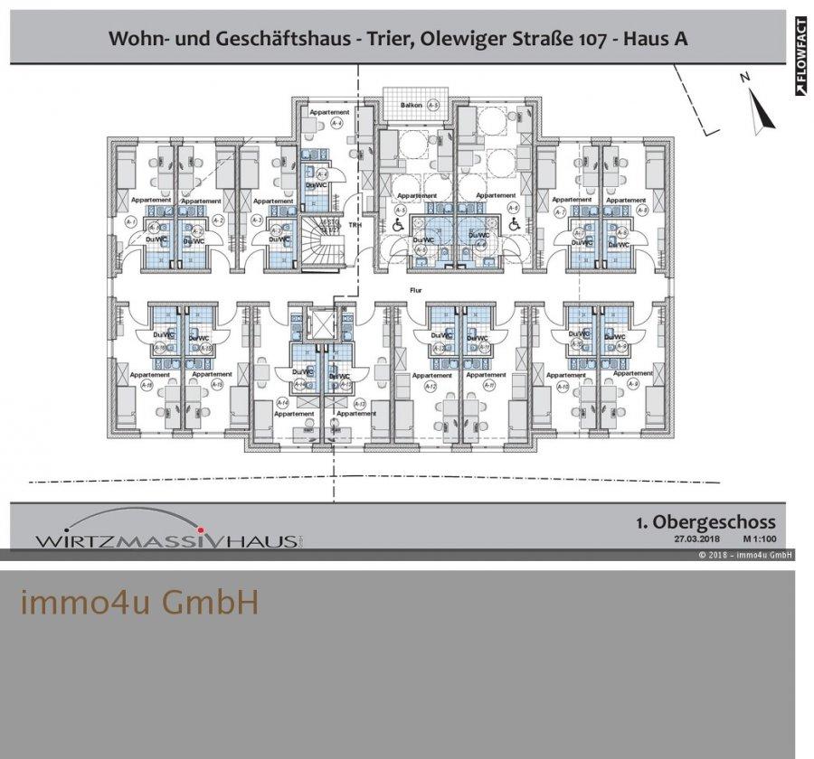 wohnung kaufen 1 zimmer 34.1 m² trier foto 1